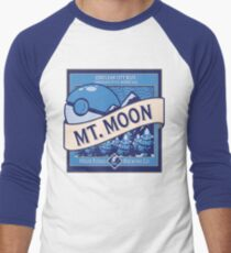 Mt. Moon Pokemon Beer Label Men's Baseball ¾ T-Shirt