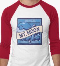 Mt. Moon Pokemon Beer Label Men's Baseball ¾ T-Shirt