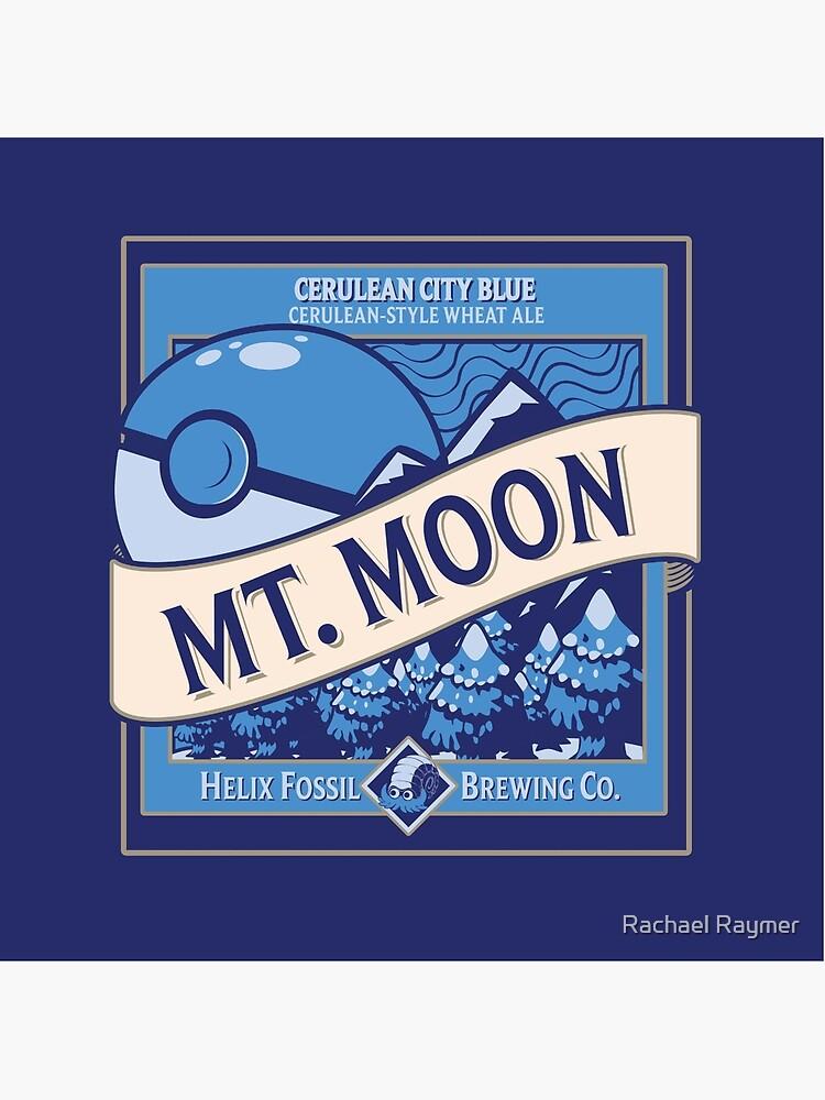 Mt. Mond Pokemon Bier Etikett von dfragrance
