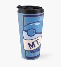 Mt. Moon Pokemon Beer Label Travel Mug