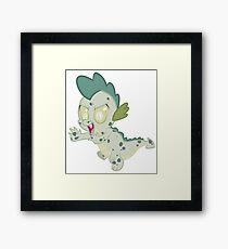 Zombie Spike Framed Print