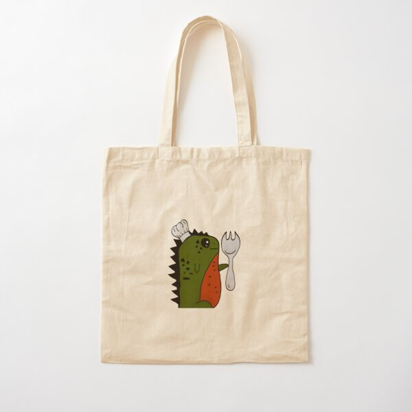 SPôRKasaur Cotton Tote Bag