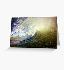 Color Wave Greeting Card