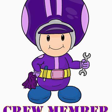 Team Waluigi Crewmember by vdBurg