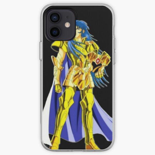 Cool Saint seiya anime iPhone Soft Case