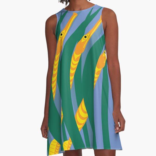 Bay Pipefish A-Line Dress