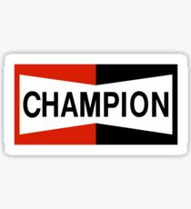 CHAMPION SPARK PLUG RACING CAR Sticker