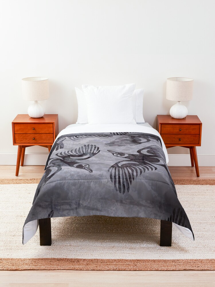 Alternate view of Crows Comforter