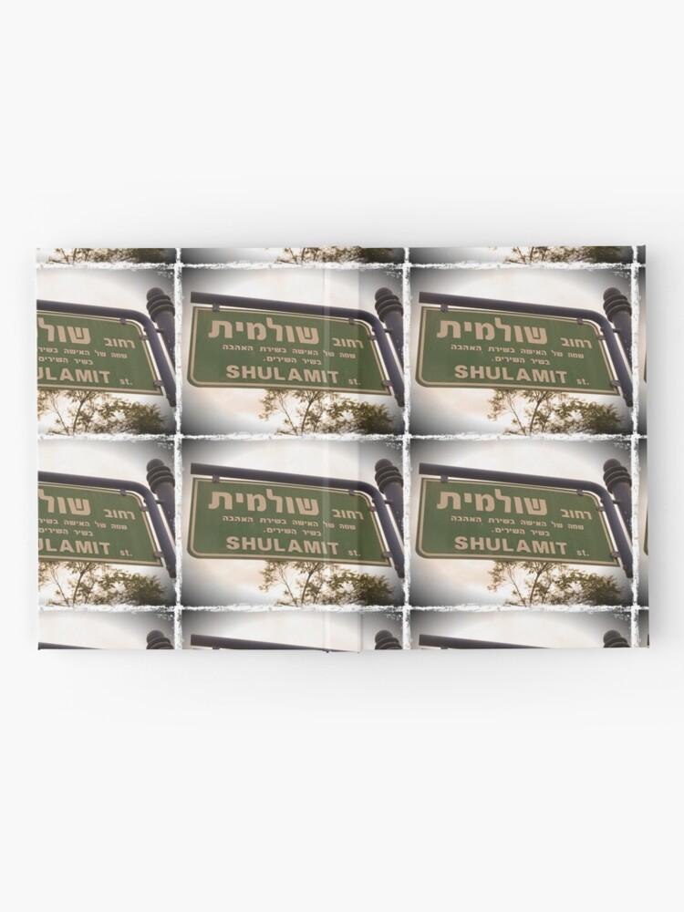 Alternate view of Shulamit, Shulamit mask, Shulamit mug, Shulamit sticker, Shulamit magnet  Hardcover Journal