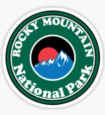 ROCKY MOUNTAIN NATIONAL PARK COLORADO MOUNTAINS HIKING CAMPING HIKE CAMP Sticker