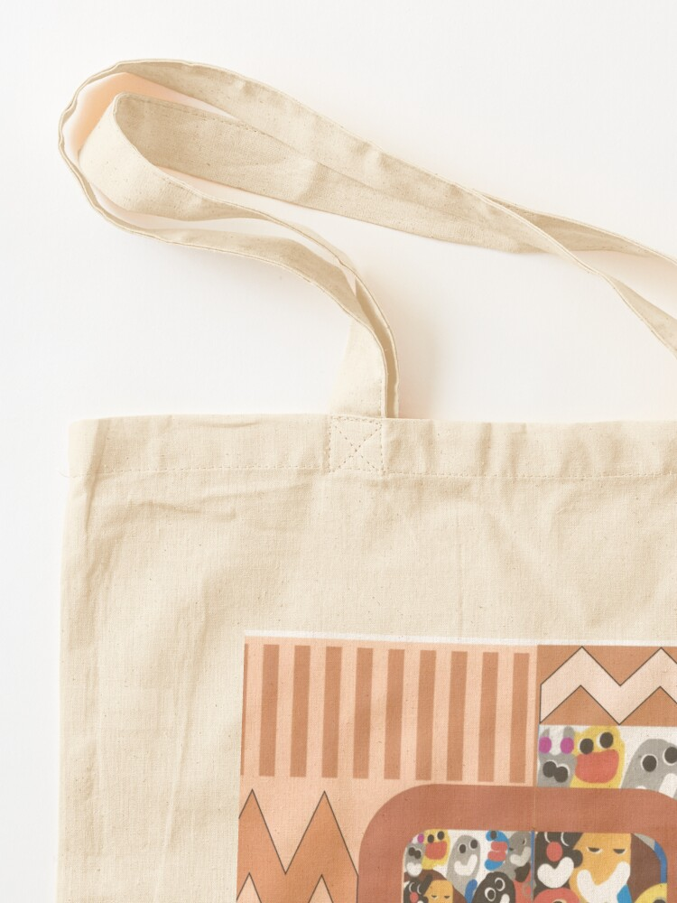Alternate view of Happy Children of the World Tote Bag