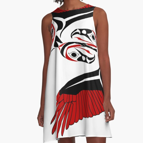 Vulture A-Line Dress