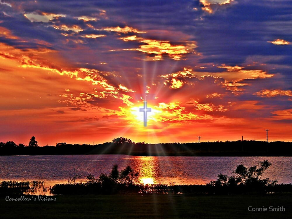 Storm Passes Cross Lake by Connie Smith