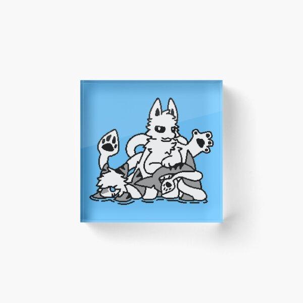 Changed - Squid Dog Sprite Acrylic Block