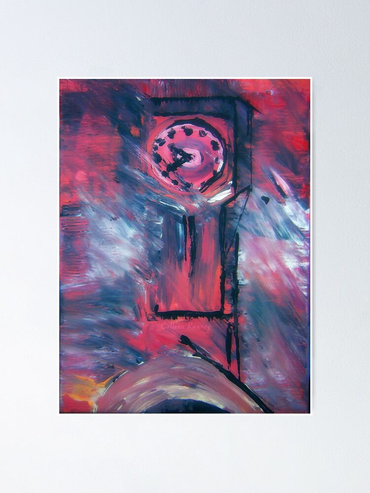Alternate view of Clock Tower Poster