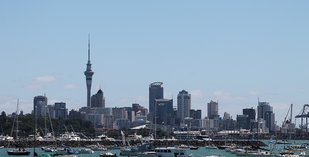 NZ Auckland New Zealand by Brython67