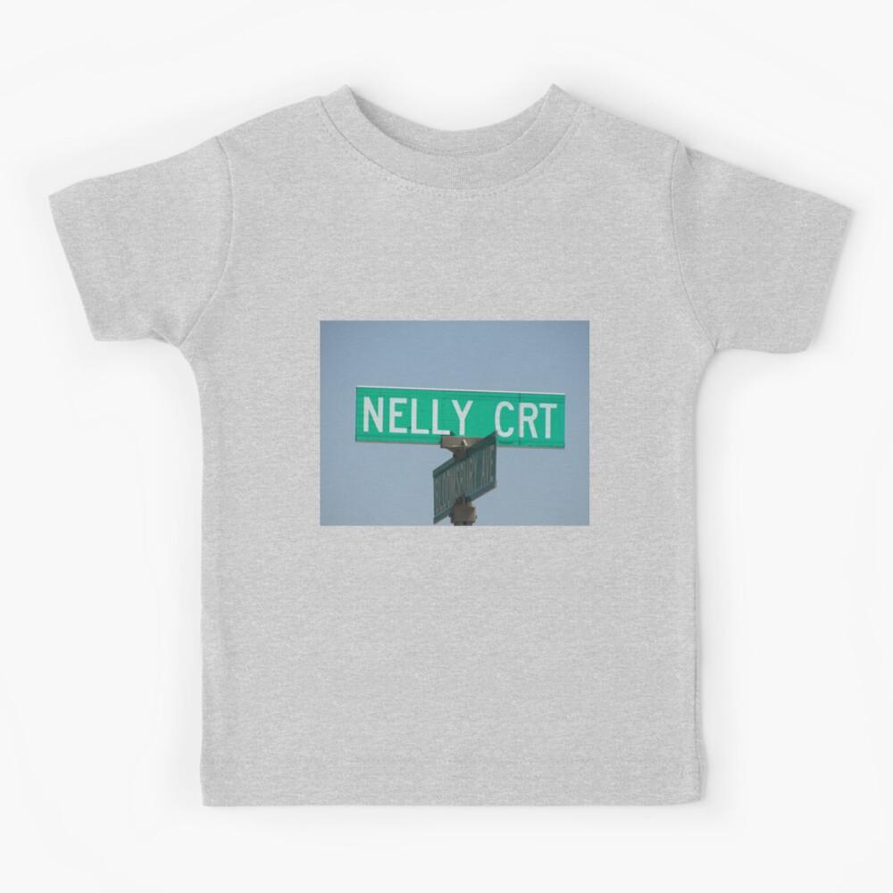 Nelly, Nelly sticker, Nelly magnet, Nelly mask, Nelly mug Kids T-Shirt