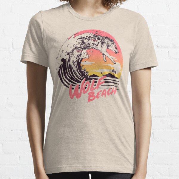 Wolf Beach Essential T-Shirt