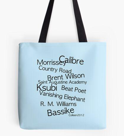 AUSTRALIA'S FINEST MEN'S FASHION DESIGNERS Tote Bag