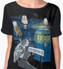 Hedwig Says Who! Chiffon Top