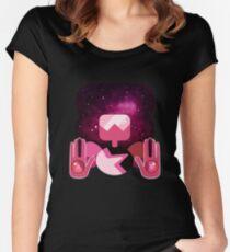 Garnet - Nebula Women's Fitted Scoop T-Shirt