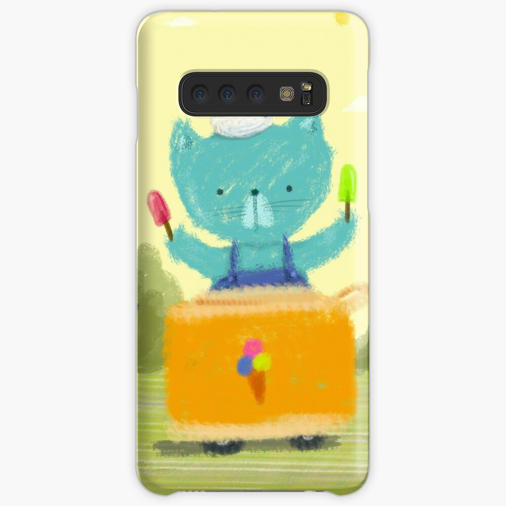 Happy Ice Cream Day Case & Skin for Samsung Galaxy
