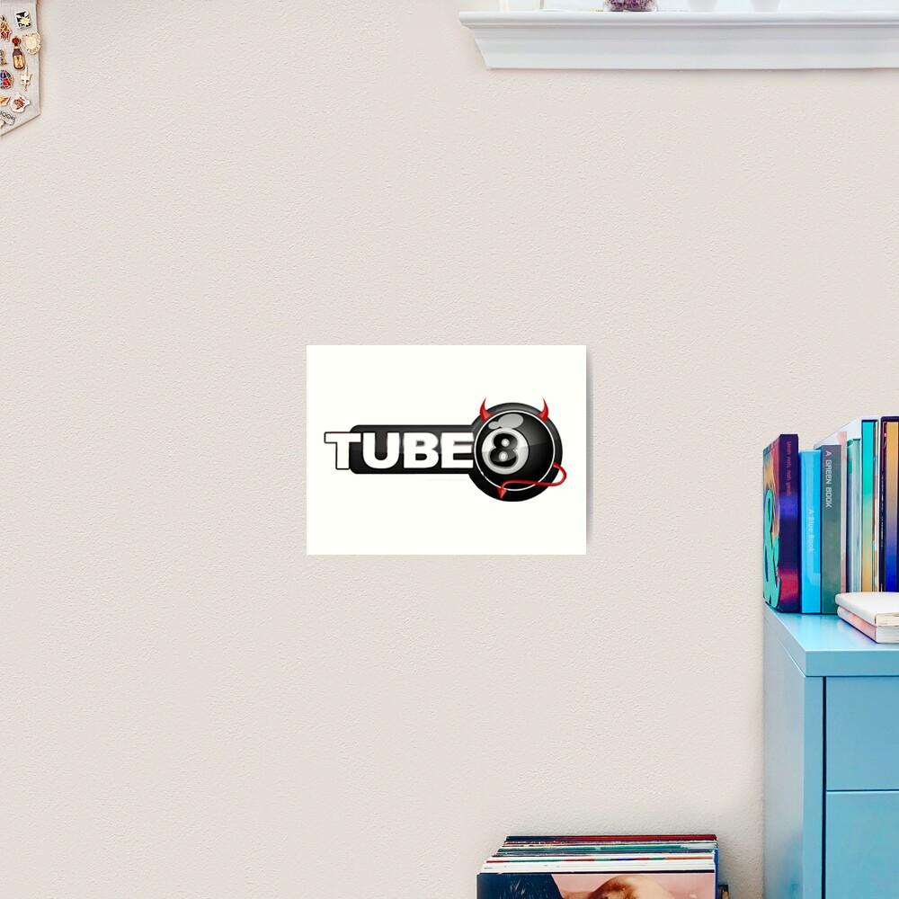 Tube 8 X hamster Fake Logo Art Print