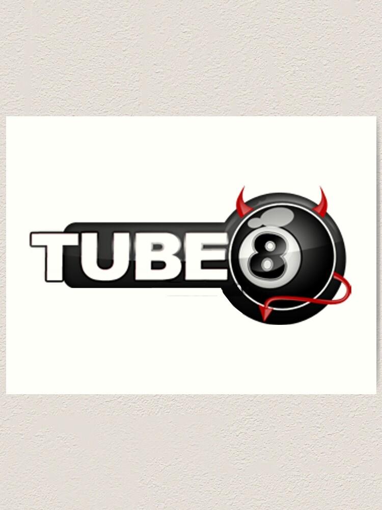 Alternate view of Tube 8 X hamster Fake Logo Art Print
