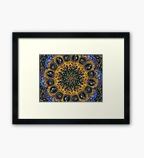 Fractal Sunflower 160620-02 Framed Print
