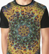 Fractal Sunflower 160620-02 Graphic T-Shirt