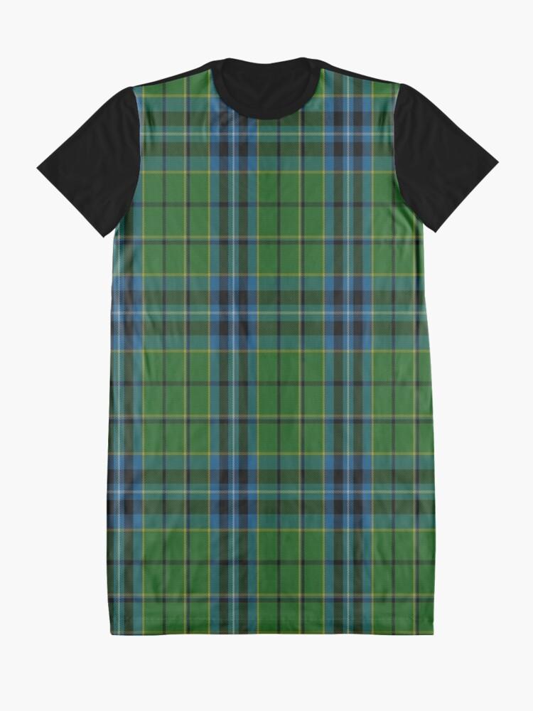 Alternate view of 02413 Dick Tartan  Graphic T-Shirt Dress