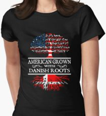 Danish - American Grown With Danish Roots T-Shirt