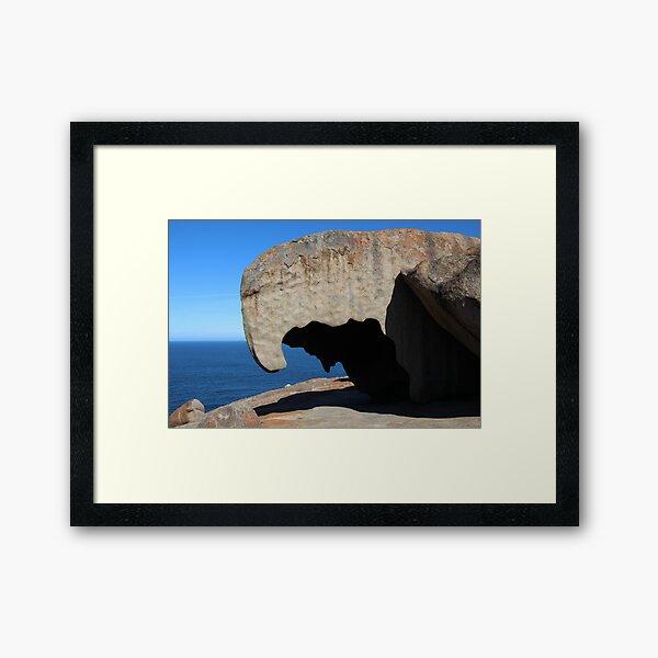 Remarkable Rocks Kangaroo Island, SA Framed Art Print