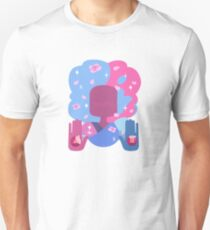 Garnet - Cotton Candy Pastel Unisex T-Shirt
