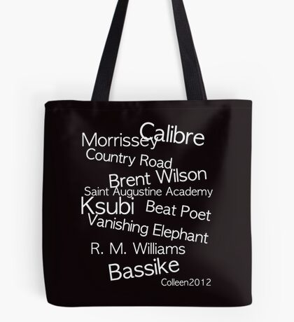 TOP CLASS FASHION DESIGNERS FROM AUSTRALIA IN ONE T-SHIRT Tote Bag