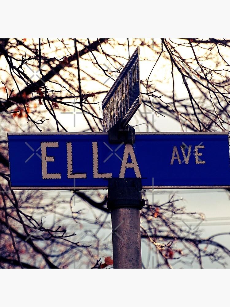 Ella, Ella sticker, Ella magnet, Ella greeting card, Ella mug by PicsByMi