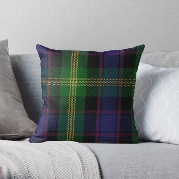 Watson Clan/Family Tartan  Throw Pillow