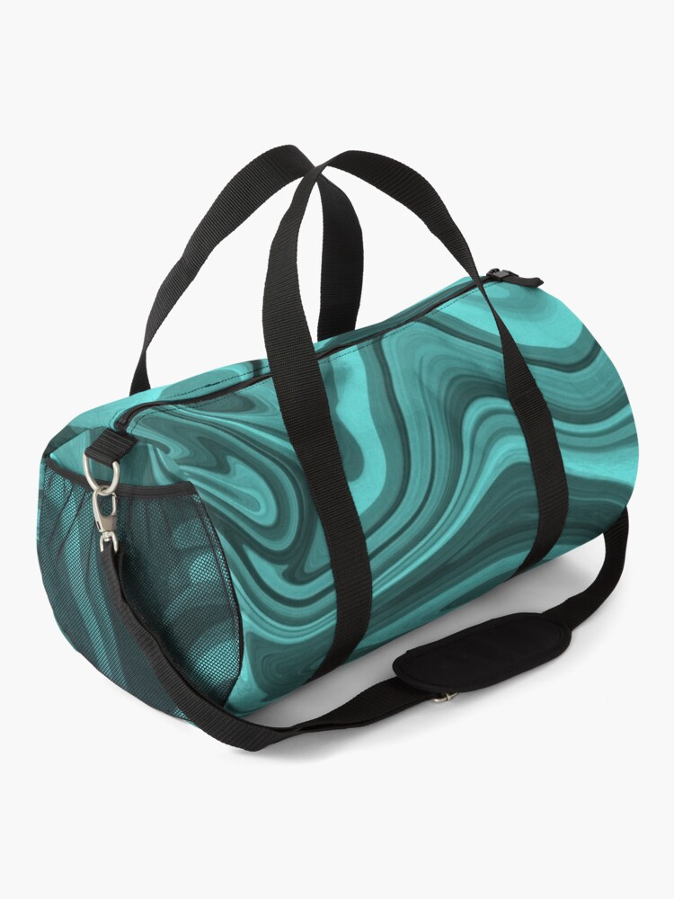 Alternate view of Teal Twirl Duffle Bag