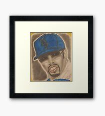 an American hip hop recording artist, record producer, entrepreneur and actor. Framed Print