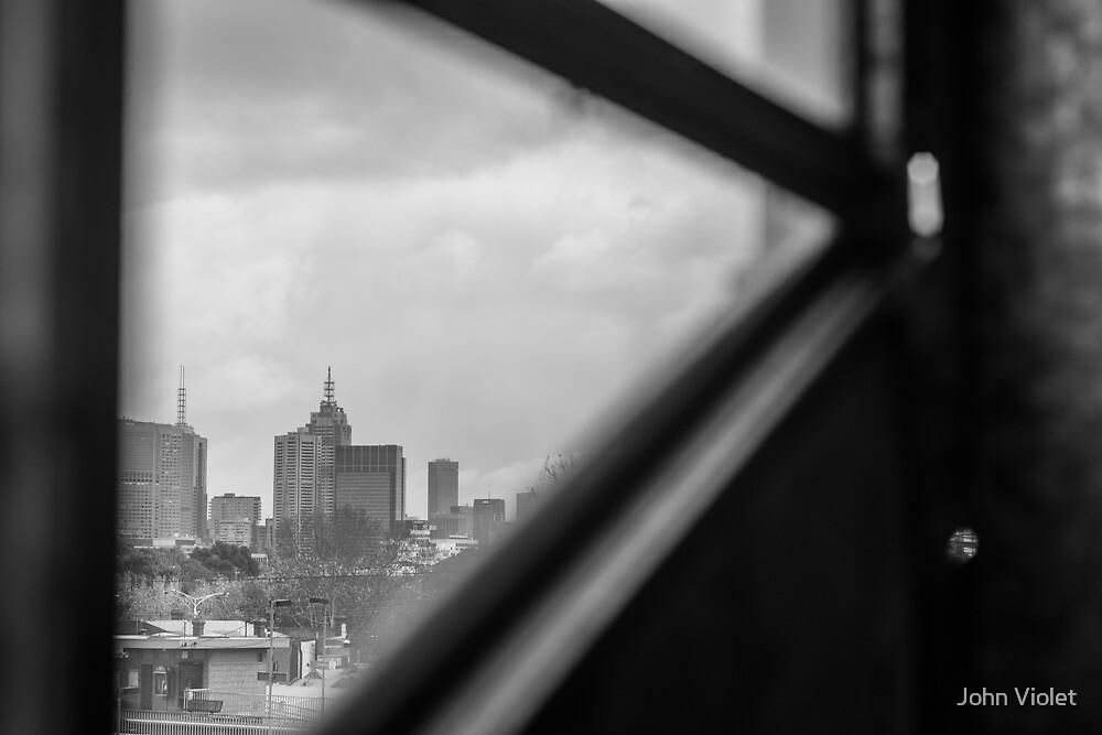 Melbourne CBD by John Violet