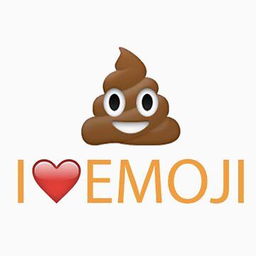 POO Emoji Tshirt!!! by DennisNewsome