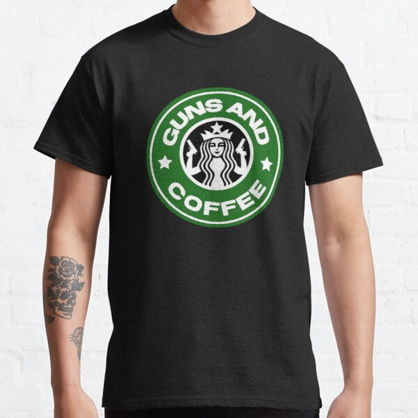 Guns and coffee Classic T-Shirt