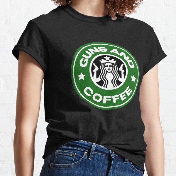 Guns and coffee Classic T-Shirt