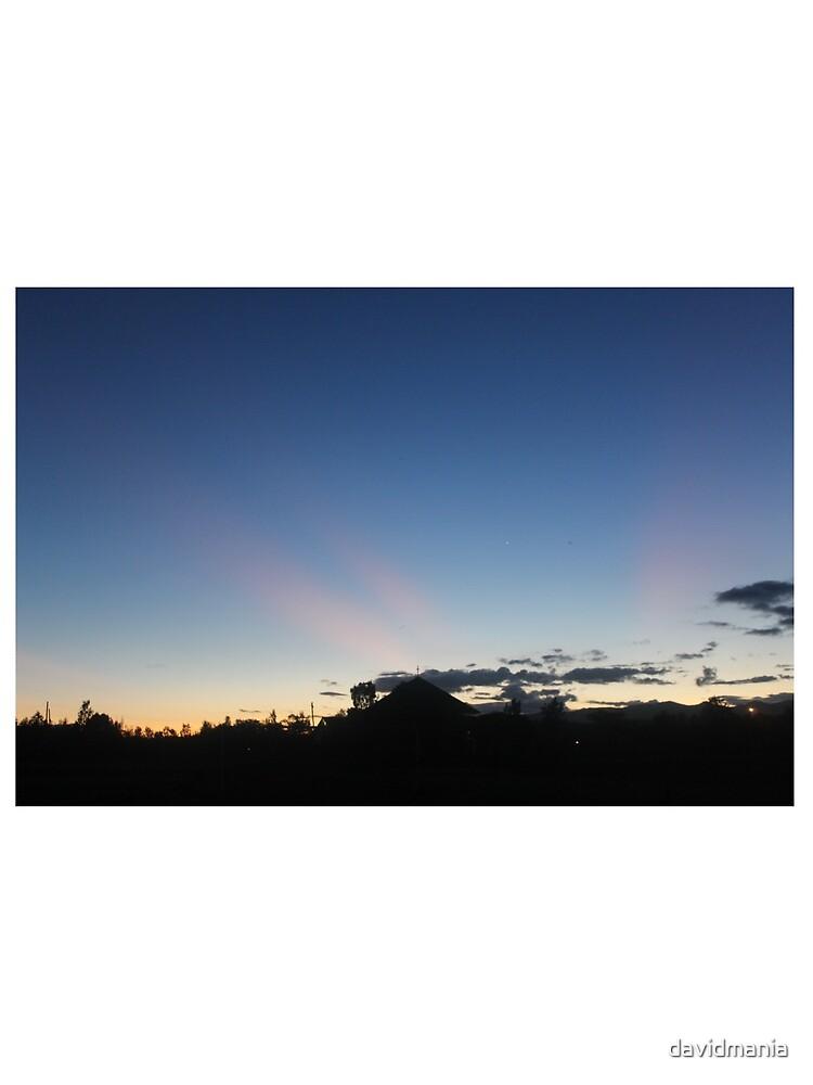 Sunset Blues by davidmania