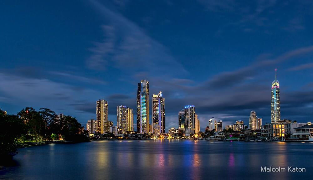 Twilight Gold Coast by Malcolm Katon