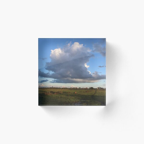 The Flying Cloud Acrylic Block