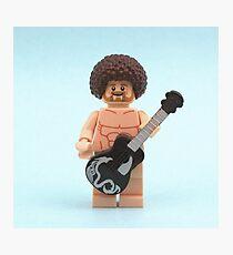 Naked Guitar  Photographic Print