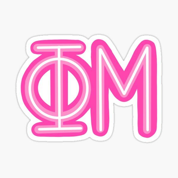 Greek letter Sticker