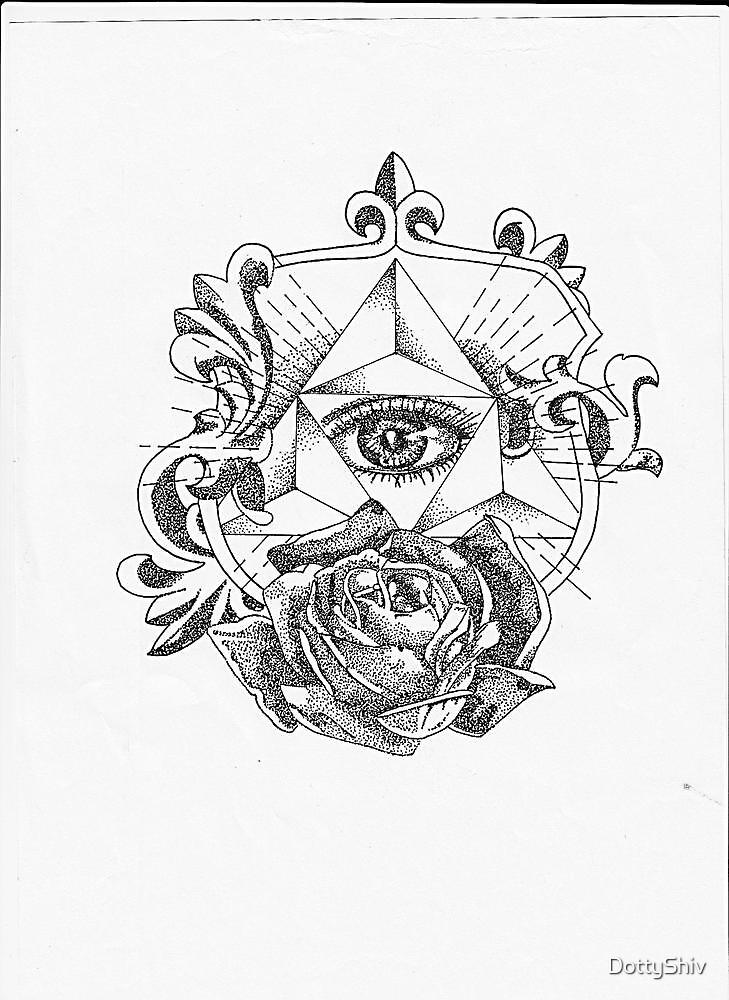 All seeing eye by DottyShiv