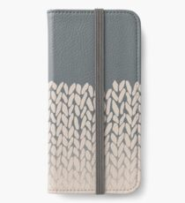 Half Knit Ombre Nat iPhone Wallet